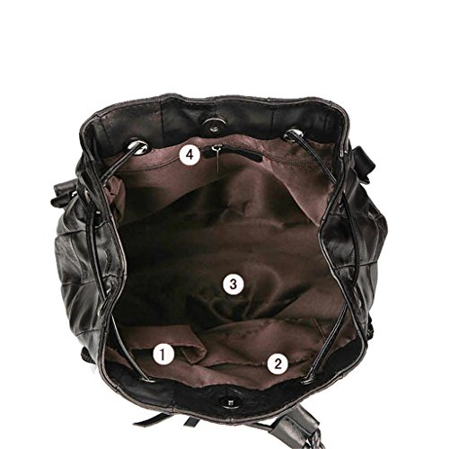 capacité qualité Mode Noir l'étudiant Sac de des Grande Bandoulière Vacances Femmes Double de en SHOUTIBAO Sac de Cadeaux Cuir à Haute Z4zxzP