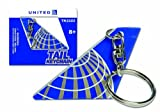 united airlines app - United Airlines Tail Keychain