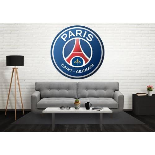 Logo PSG (Paris Saint Germain) - Stickers autocollant Rond - PSG 100 cm de diamètre
