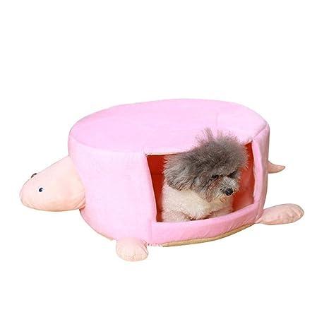 AUOKER - Saco de Dormir para Perro/Gato, Cama Desmontable, diseño de Tortuga