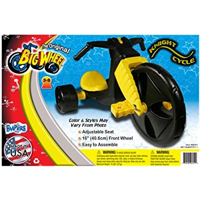 """The Original Big Wheel """"KNIGHT CYCLE"""" 16"""" Trike Limited Edition Ride-on: Toys & Games"""