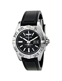 Breitling Galactic 41 Automatic Black Dial Mens Watch A49350L2-BA07BKPD