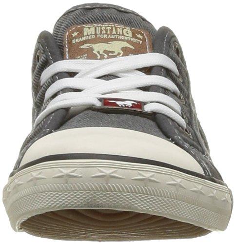 Mustang  - Zapatillas para mujer,  color grau 2, talla 43