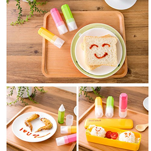 xiaolanwelc @ 3pcs/set decoración de pasteles bolígrafo Chocolate ...