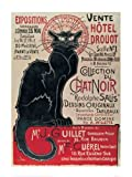 Le Chat Noir by Steinlen 40 x 50 cm art print