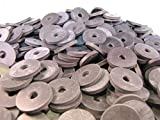 (100) 1 X 1/4 X 1/8 Inch | Rubber Washers - EPDM Rubber Washers