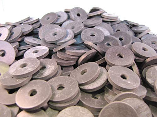 (100) 1 X 1/4 X 1/8 Inch | Rubber Washers - EPDM Rubber Washers by Primal23 Industrial