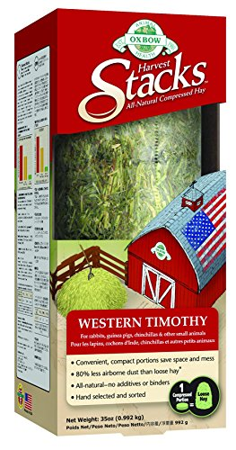 Price comparison product image Oxbow Animal Health Harvest Stacks Western Timothy Pet Food, 35-Ounce