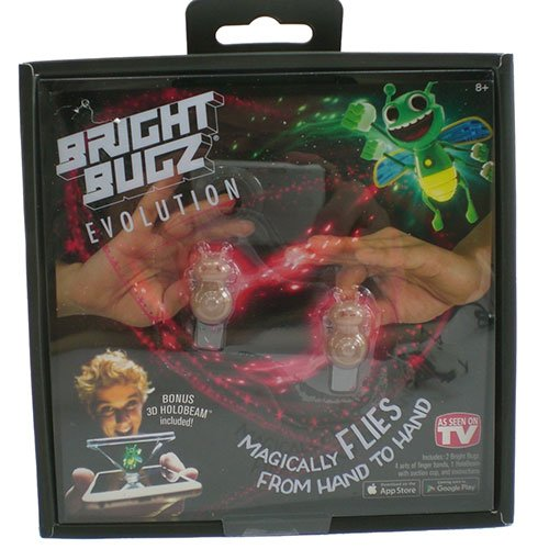 Nowstalgic Toys Bright Bugz Evolution Magic Lights Red