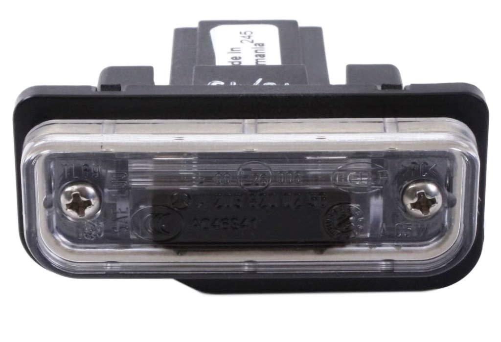Hella Kennzeichen-Beleuchtung Kennzeichen-Leuchte f/ür Mercedes Benz E W211 C W203 S203 CLK CLS C219 Tesla