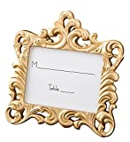 Fashioncraft Gold Baroque style frame favor from