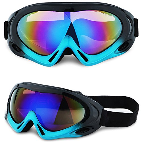 Motocycle Goggles Adjustable UV Protective Outdoor Glasses Protective Combat Goggles Military Sunglasses Outdoor Tactical Goggles to Prevent Particulates in Colorful - Glasses Tactical Oakley