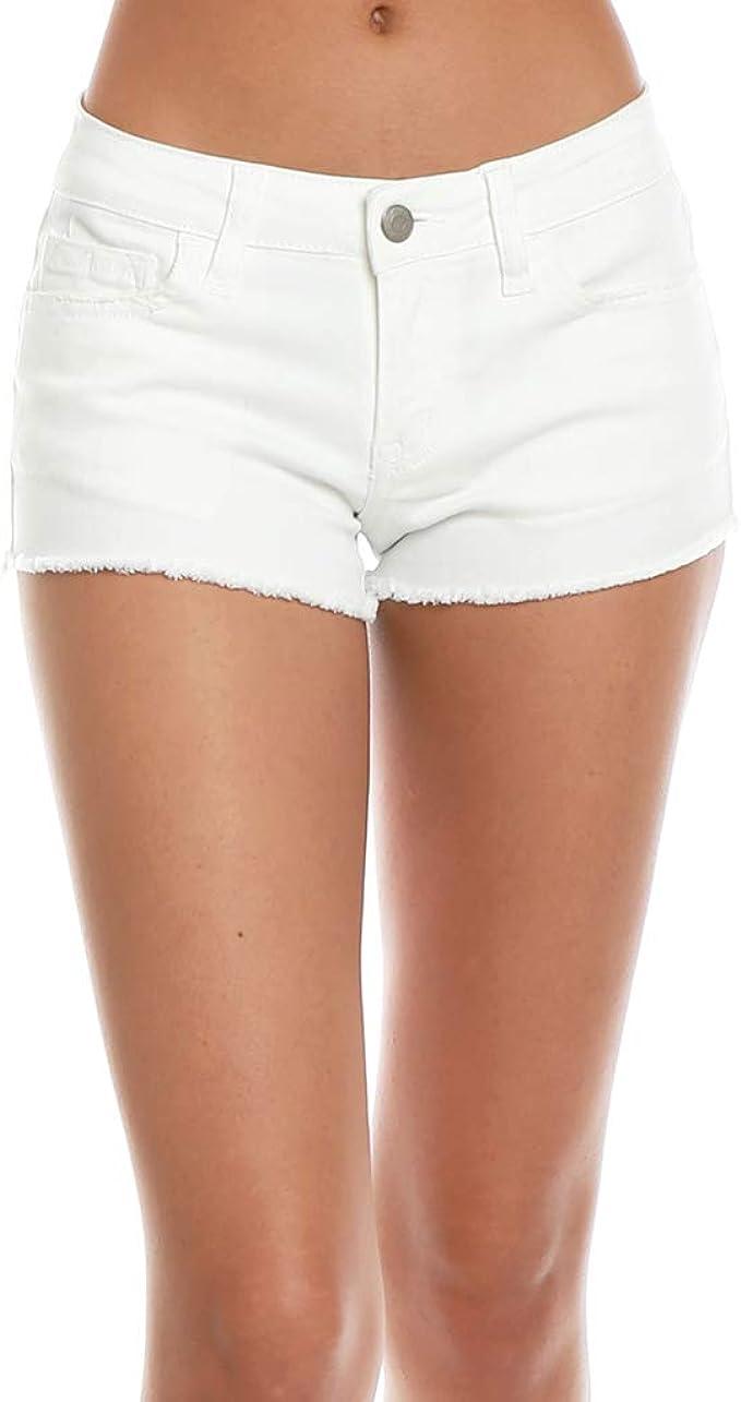 Klique B Leopard Highwaist Womens Shorts Medium