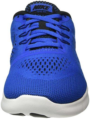 Nike Free Rn (Gs) - Entrenamiento y correr Niños Azul (Game Royal / Black-White)