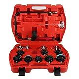 Cooling System Tester, 14pcs Universal Car Water Tank Leak Tester Cooling System Detector Tool Kit