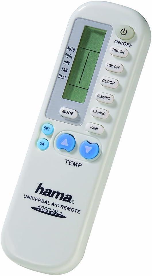 Hama 040080 - Mando universal para aire acondicionado