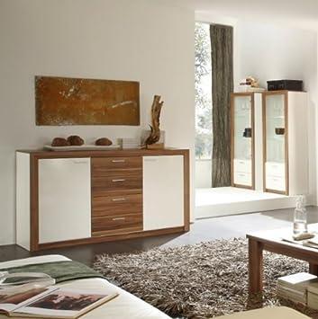 SIDEBOARD HIGHBOARD WEISS NUSSBAUM: Amazon.de: Küche & Haushalt