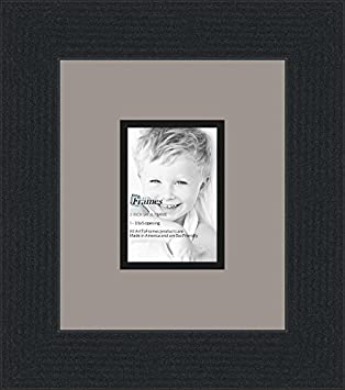 Amazoncom 35x5 35 X 5 Picture Frame Satin Black 2 Wide With