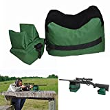 Oxford Cloth Green Tatical Front&Rear Sandbag Support Hunting Rifle Range Sandbag Shooting Bag Bench Rest Sniper