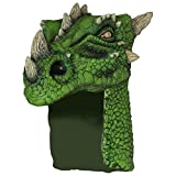 Adult Green Dragon Halloween Helmet