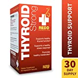 Redd Remedies – Thyroid Strong, Natural Support to Promote Healthy Mood and Metabolism, 60 Count Review