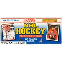 """1990 / 1991 Score Hockey Premier Edition Factory Sealed """"USA"""" Version 445 Card Set Featuring Martin Brodeur Rookie Card, Wayne Gretzky, Mario Lemieux, Steve Yzerman and Many More! by Score"""