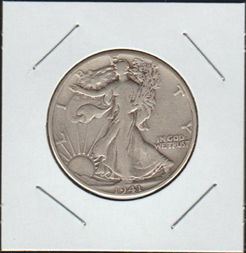 1941 Liberty Walking (1916-1947) Half Dollar Choice Extremely Fine (1941 Liberty Quarter)