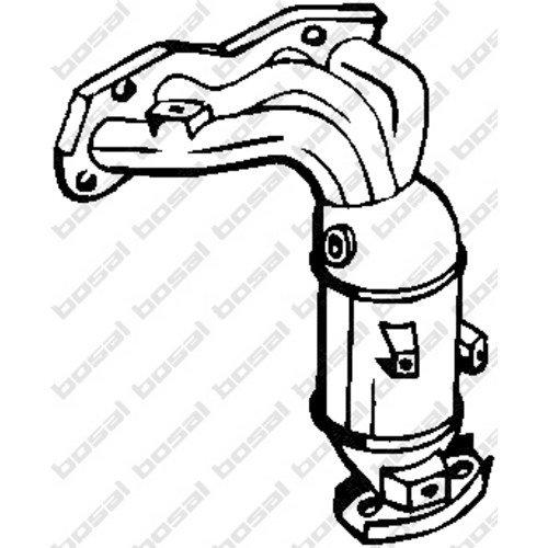 Bosal 090-472 Katalysator