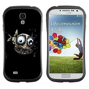 Suave TPU GEL Carcasa Funda Silicona Blando Estuche Caso de protección (para) Samsung Galaxy S4 I9500 / CECELL Phone case / / Funny Fish Eyes Underwater Black 3D /