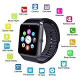 ASYOU SmartWatch GT08 Bluetooth Watch,Support SIM Card Bluetooth Smartwatch with USB Cable for iOS Android Smartphone