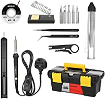 Andoer soldering iron kit 60w adjustable temperature