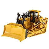 Diecast Masters CAT Caterpillar D9T Track-Type Tractor with Operator High Line Series 1/50 Diecast Model by 85944