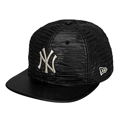 New Era Homme Casquettes / Snapback Leather Wave New York Yankees
