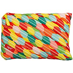 ZIPIT Colorz Jumbo Pencil Case, Large Bubbles