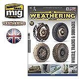 AMM4524 AMMO by Mig The Weathering Magazine #25 - Wheels, Tracks & Surfaces
