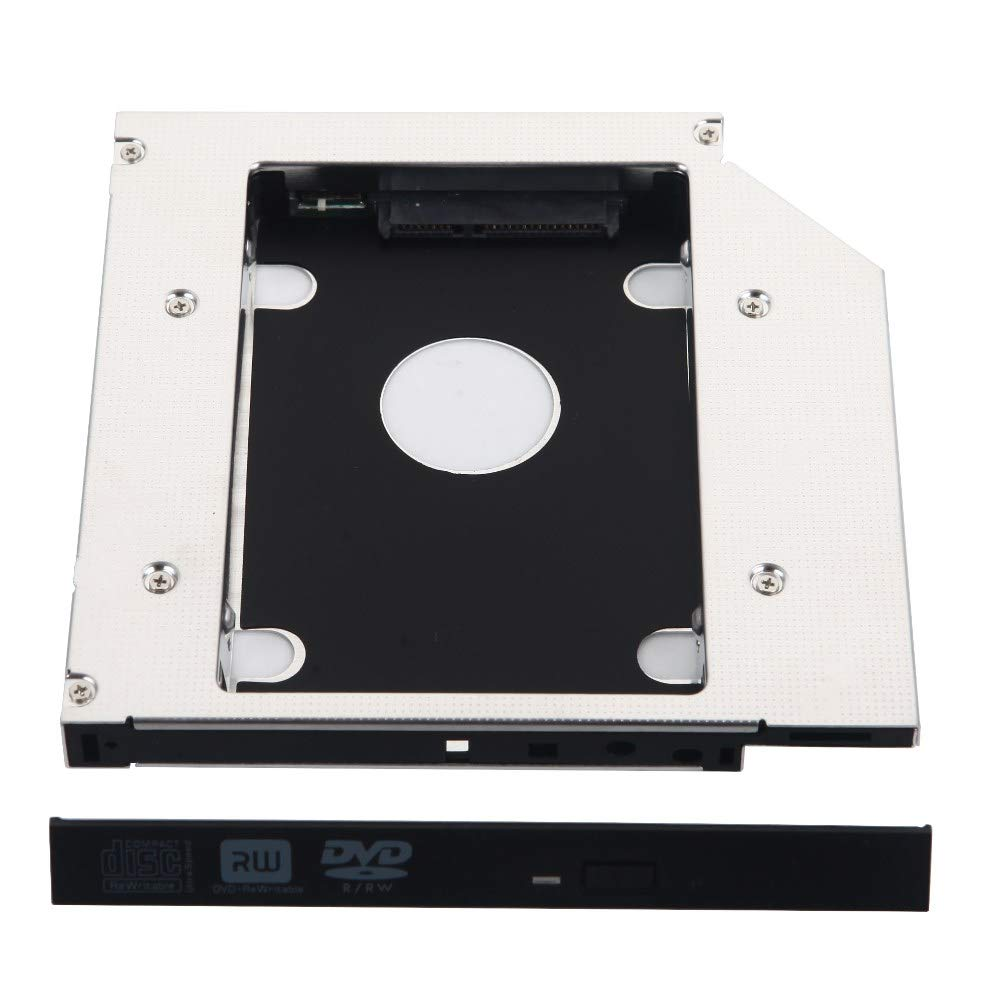 Deyoung 2nd Hard Drive HDD Caddy Adapter for DELL Inspiron 15R SE 7520 N5010 N5110 M5010