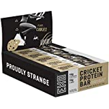 Exo Protein Bars 16g Protein Gluten Free, High Fiber, Dairy Free Energy Bar, 12 Count (Chocolate Chip Cookie Dough)