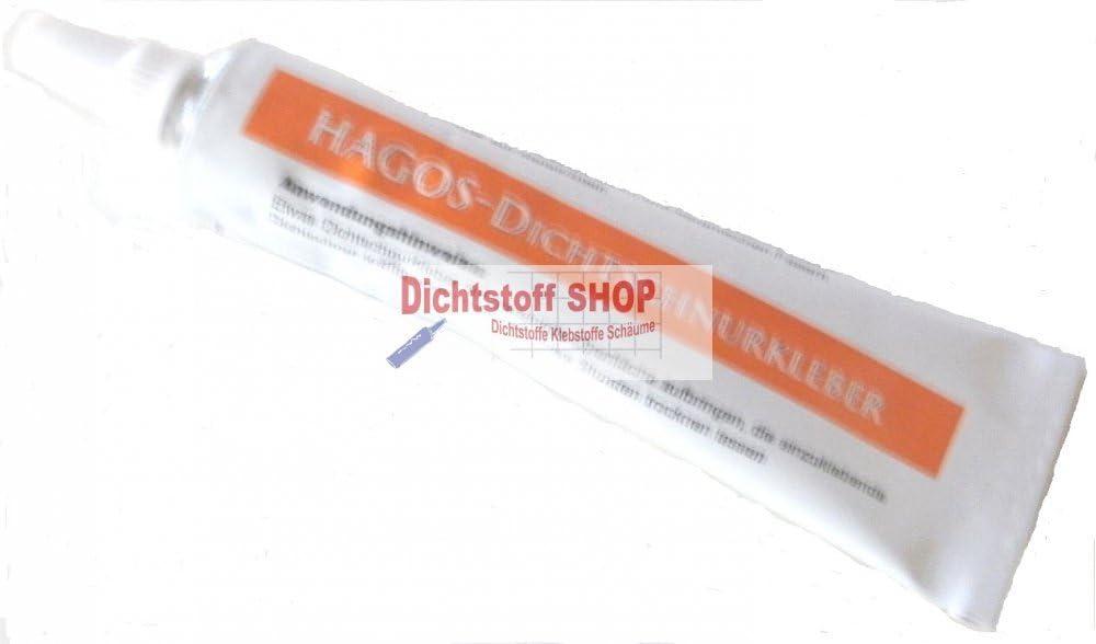 Hagos Kleber 17ml Fiberglas Ofen Dichtschnur /Ø 10mm x 1.5m