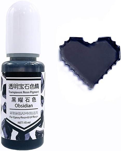 DALIN 24 colores epoxi resina UV gema pigmento resina líquida ...