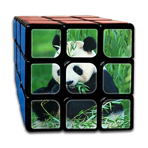 AVABAODAN Panda Bamboo Rubik's Cube Original 3x3x3 Magic Square Puzzles Game Portable Toys-Anti Stress For Anti-anxiety Adults Kids by AVABAODAN