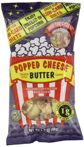 Просто Сыр Выскочил сыр, сливочное масло вкус, 1,7 унции пакеты (пакет из 6)