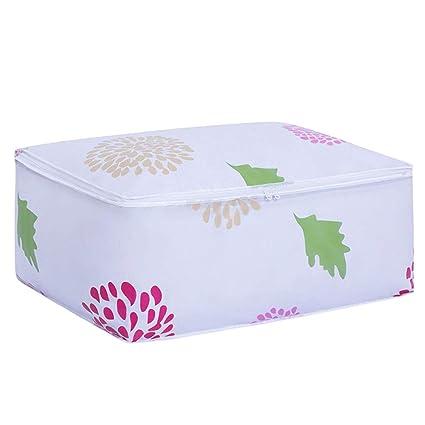 Bolsa de almacenamiento 2 UNIDS Portátil Patrón de Flores Organizador de Viaje Impermeable a Prueba de