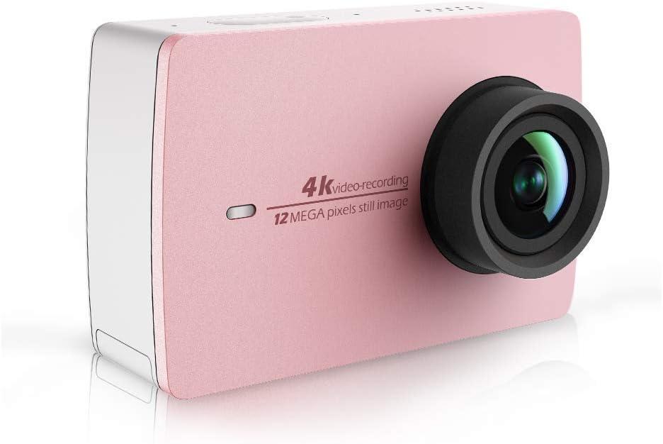 YI Cámara de acción 4K Blanc Avie Selfie Stick et télécommande Bluetooth 4K / 30fps 12MP Action CAM Avec écran LCD táctil de 5,56 cm (2,2