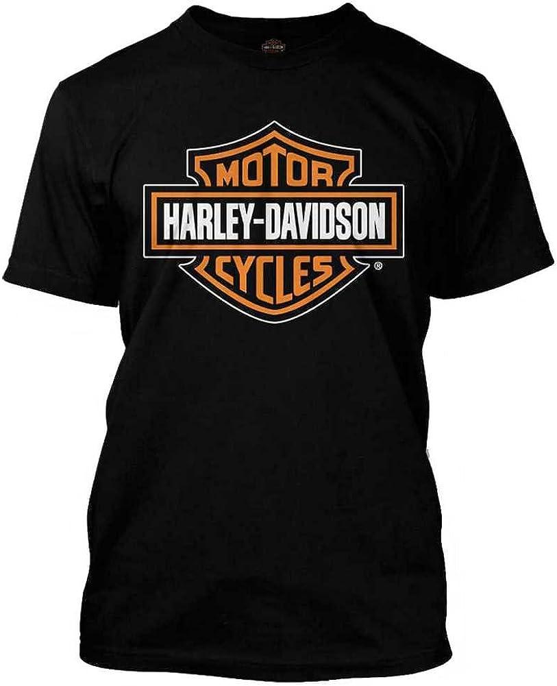 Harley-Davidson 30290591 - Camiseta para hombre, color naranja y negro - Negro - X-LargeT: Amazon.es: Ropa y accesorios