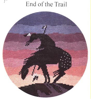 Pegasus Originals End of the Trail Counted CrossStitch Kit