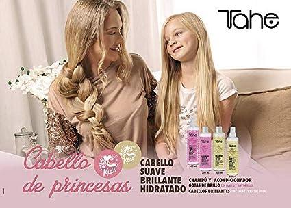 Tahe Champú Kids Preventivo Escolar para Niños/Champú Infantil Preventivo Piojos con Aceite Árbol del Té, 300 ml