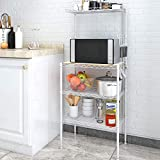 Best Microwave Cart With Shelfs - Lifewit 4-Tier Baker's Rack, Microwave Cart Oven St Review