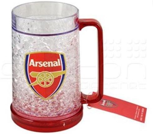 Taza refrigerante merchandising oficial de tu equipo de fútbol favorito. Tamaño pinta, perfecta para regalo., color Arsenal, tamaño 47,3 cl: Amazon.es: Hogar