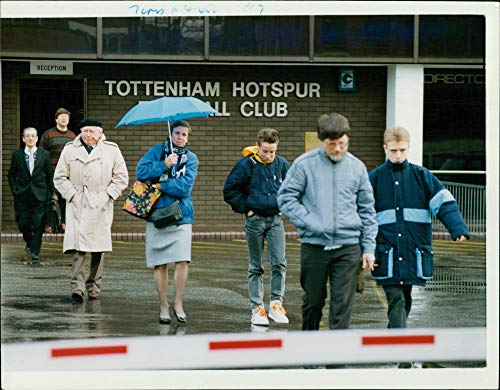 (Vintage photo of Spurs held an AGM.)