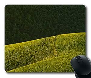 chen-shop design Mouse Pad Rolling Green Hills Desktop Laptop Mousepads Comfortable Office Mouse Pad Mat Cute Gaming Mouse Pad high XXXX